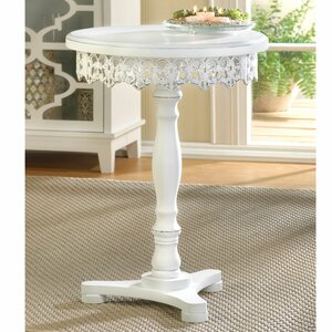 Flourish End Table