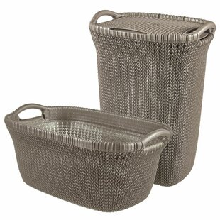 Curver Knit Laundry Set By Ebern Designs