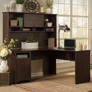 Darby Home Co Fralick 4 Piece Desk Office Suite