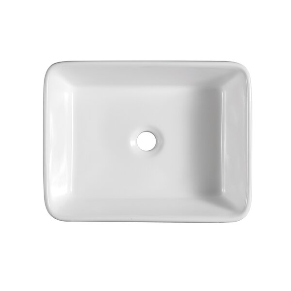 Amuer International Ceramic 24 L X 16 W Undermount Kitchen Sink Wayfair