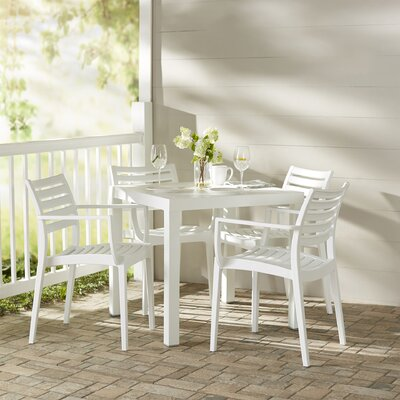 Melissus 5 Piece Dining Set by Mercury Row 2020 Sale