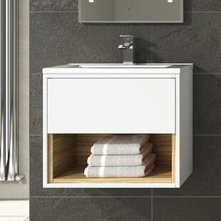 Coast 810mm Wall Mount Vanity Unit By Hudson Reed