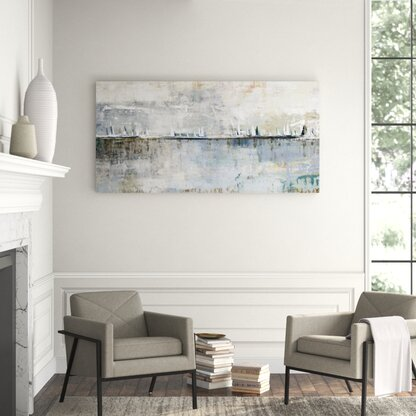 View from the Shore - Painting Print