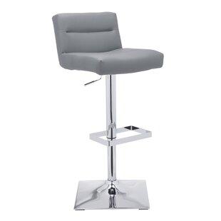 Strange Now Wade Logan Atropos Adjustable Height Swivel Bar Stool Cjindustries Chair Design For Home Cjindustriesco