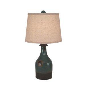 Haldeman Small Clay Jug 23 Table Lamp