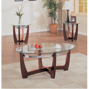 Ebern Designs Zuo Coffee Table Set (Set of 3)