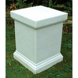 Svedin Victorian Plinth Pedestal By Sol 72 Outdoor