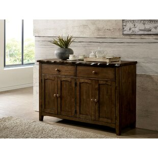 Sprowston Rustic Solid Wood Rectangular Sideboard