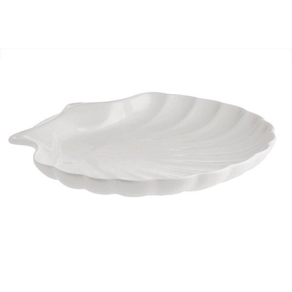La Porecellana Bianca Elba Shell Platter Wayfair