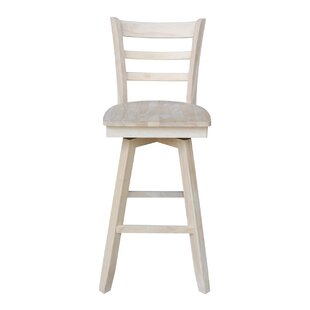 Adah 30 Swivel Bar Stool Highland Dunes