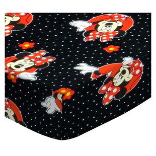 Reviews Minnie Mouse Dots 3 Piece Crib Bedding Set By Sheetworld