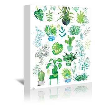 Trademark Art Iris Plan By Nick Bantock Framed Graphic Art Wayfair
