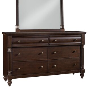 Reviews Cruz 6 Drawer Double dresser by Darby Home Co