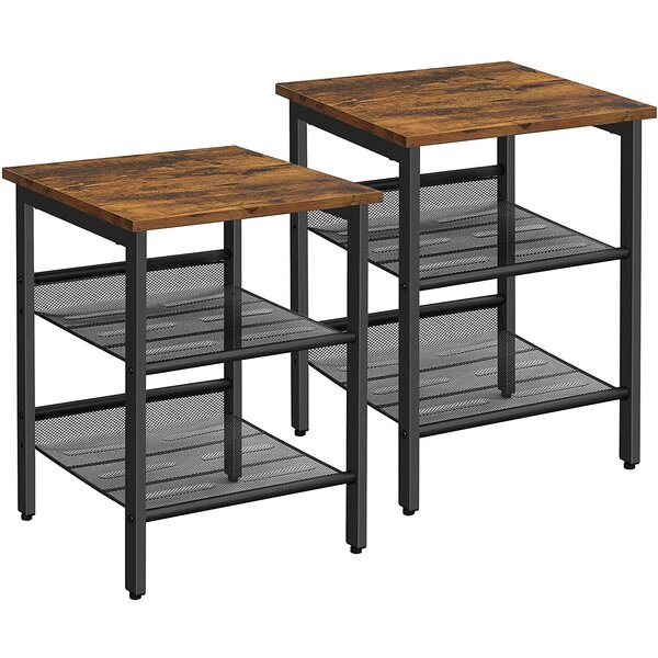Set Of 2 End Tables Wayfair