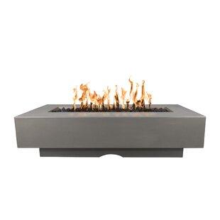 The Outdoor Plus Del Mar Concrete Fire Pit Table