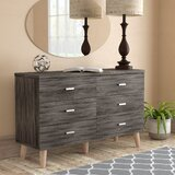 Grosso 6 Drawer Double Dresser by Wrought Studio™