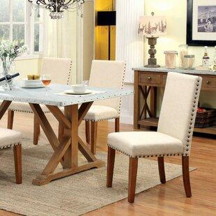 Gracie Oaks Belger Industrial Dining Table