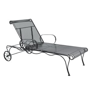 Tucson Adjustable Chaise Lounge by Woodard Great price
