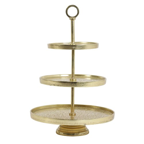 Etagere Florine Rosalind Wheeler Farbe: Gold | Küche und Esszimmer > Aufbewahrung > Etageren | Rosalind Wheeler
