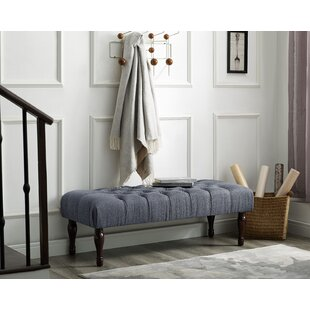 Maestas Upholstered Bench by Charlton Home
