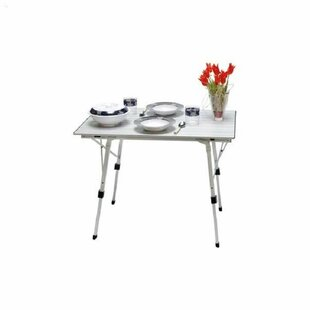 Winget Folding Aluminium Dining Table By Sol 72 Outdoor