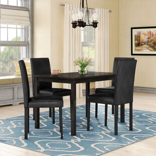 Elderton 5 Piece Dining Set Andover Mills