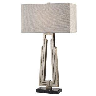 Aidan Alvar Mid Century Modern 32 Table Lamp