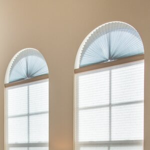 Sheer View Solar Fabric Arch Shade