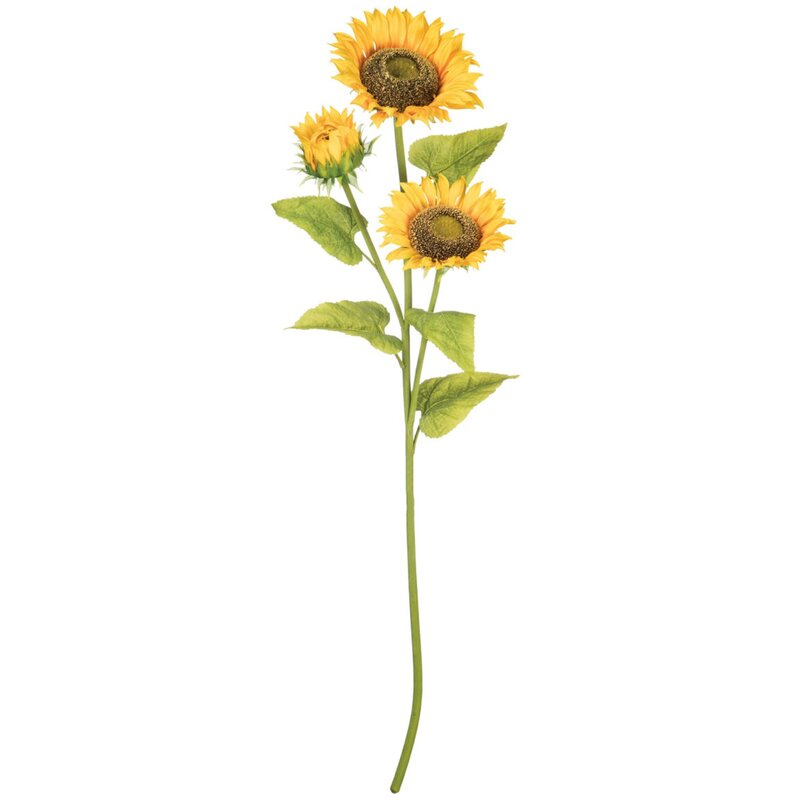 August Grove Trio Sunflowers Stem Wayfair