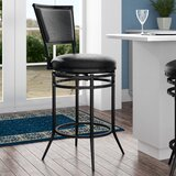 Massena Bar & Counter Swivel Stool by Darby Home Co