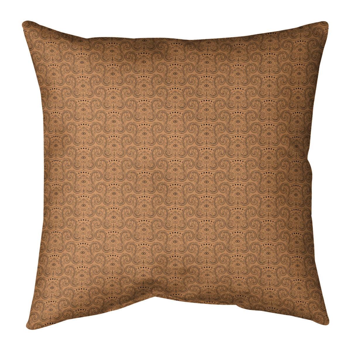 16 Square Leather Suede Throw Pillows You Ll Love In 2021 Wayfair