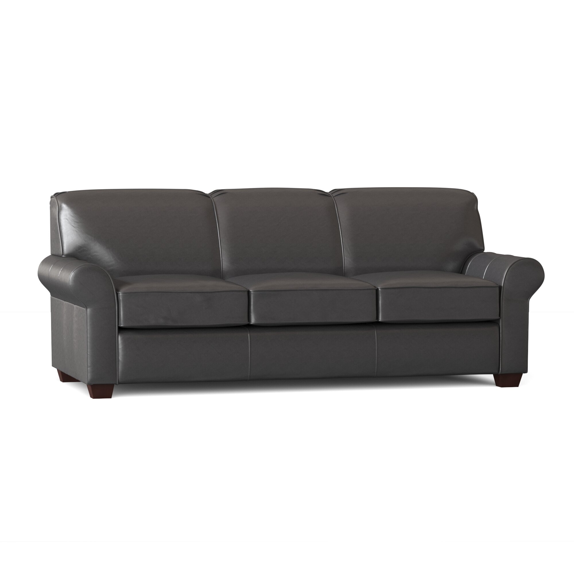 - Wayfair Custom Upholstery™ Jennifer Genuine Leather 81