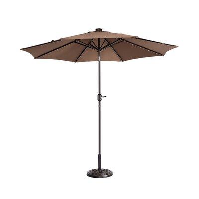 Coggeshall LED Lighted 9 Market Umbrella by Freeport Park Amazing