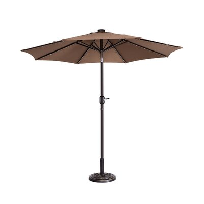 Coggeshall LED Lighted 9 Market Umbrella by Freeport Park Best Choices