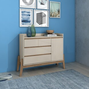 Taul 4 Drawer Combo Dresser
