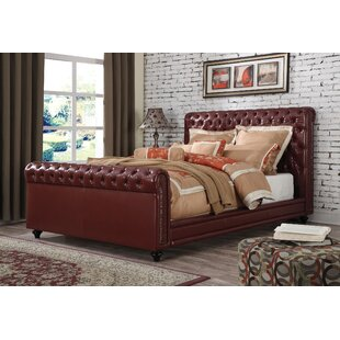 Bronwen Upholstered Panel Bed by 17 Stories Discount