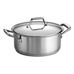 Gourmet Prima 5 Qt. Round Dutch Oven with Lid