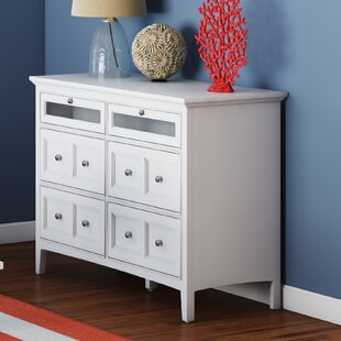 Rosecliff Heights Tanager 6 Drawer Media Chest