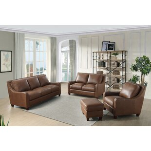 Randall Leather Configurable Living Room Set by Beam & Oak
