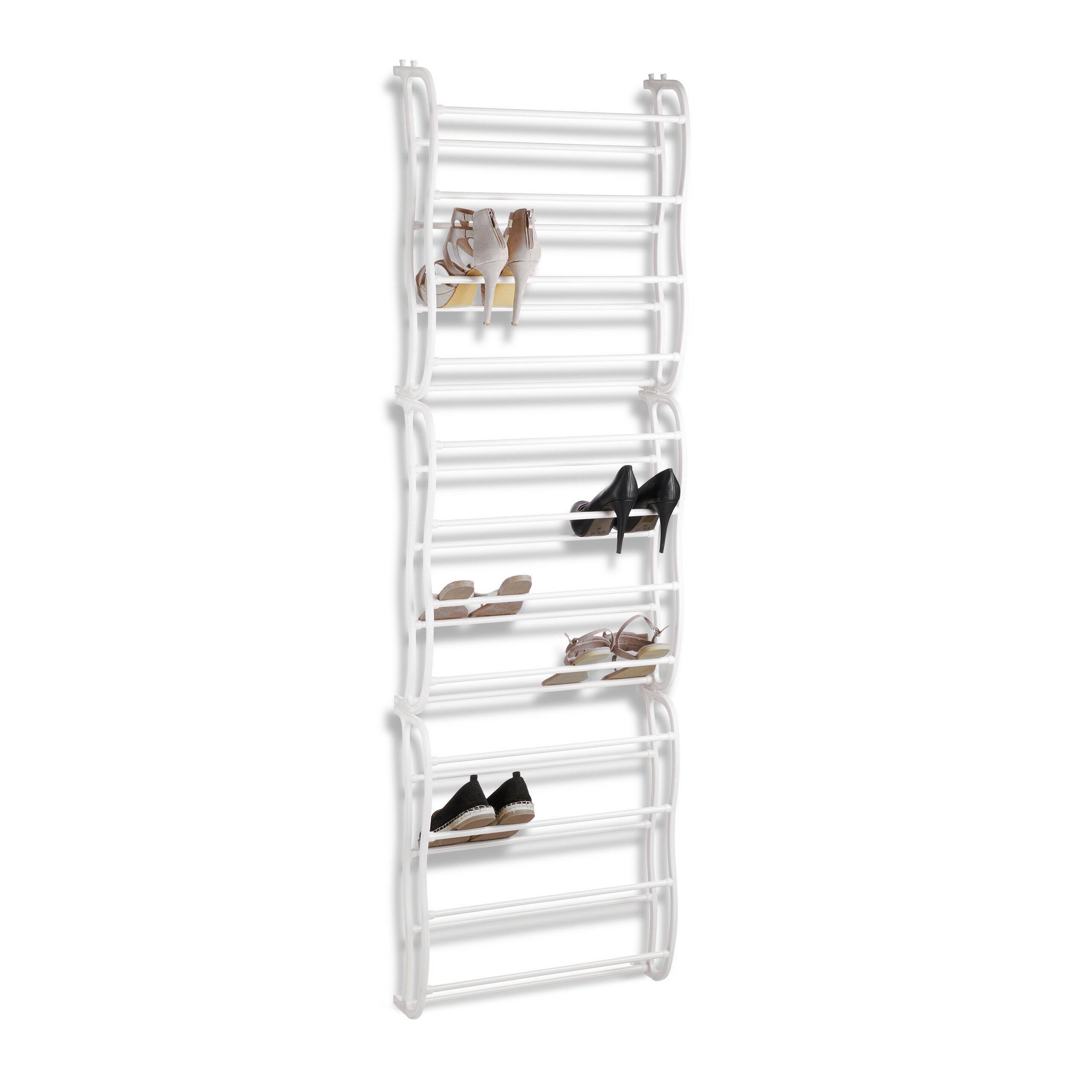 26 Pair Shoe Storage Hanging Over Door Shoe Organiser Rack Tidy Space Save UK
