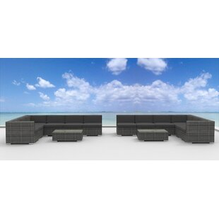 La Jolla 14 Piece Sectional Set With Cushions by Urban Furnishings Modern