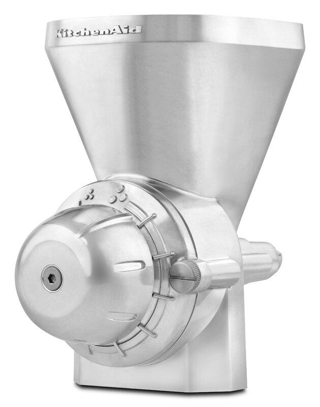 kitchenaid food grinder. all metal grain mill attachment for stand mixers kitchenaid food grinder