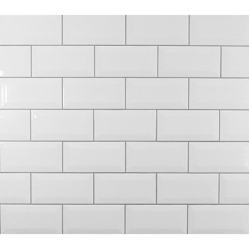 Clic 3 X 6 Beveled Ceramic Subway Tile