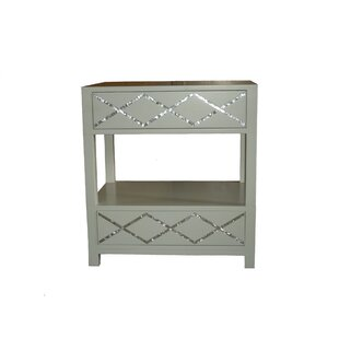 Atma 2 Drawer Nightstand by Indo Puri