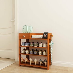 Read Reviews 12 Pair Shoe Rack By Rebrilliant
