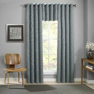 Bragenham Solid Max Blackout Thermal Grommet Single Curtain Panel by Charlton Home