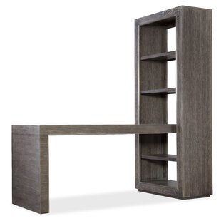 House Blend Writing Desk With Bookcase