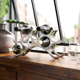 New Haven 9 Bottle Tabletop Wine Rack