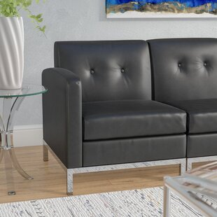 Shop For Buschwick Leather Lounge Chair by Wade Logan Reviews (2019) & Buyer's Guide