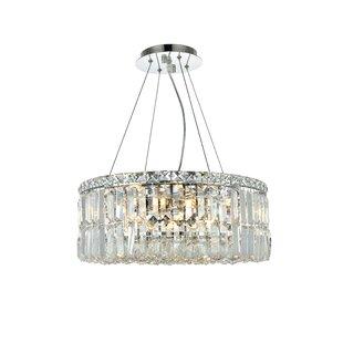Langer 12-Light Crystal Chandelier